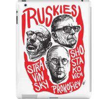 Ruskies-Russian Composers iPad Case/Skin