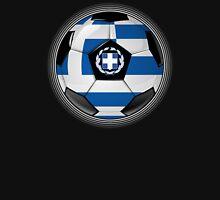 Greece - Greek Flag - Football or Soccer Unisex T-Shirt