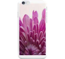 Magenta Petals Macro Floral Photograph iPhone Case/Skin