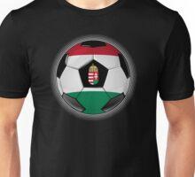 Hungary - Hungarian Flag - Football or Soccer Unisex T-Shirt