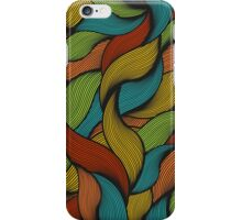 Colorful hair. iPhone Case/Skin