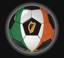 Ireland - Irish Flag - Football or Soccer by graphix