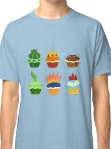 starter pokemon as cupcakes Classic T-Shirt
