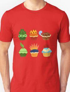 starter pokemon as cupcakes Unisex T-Shirt
