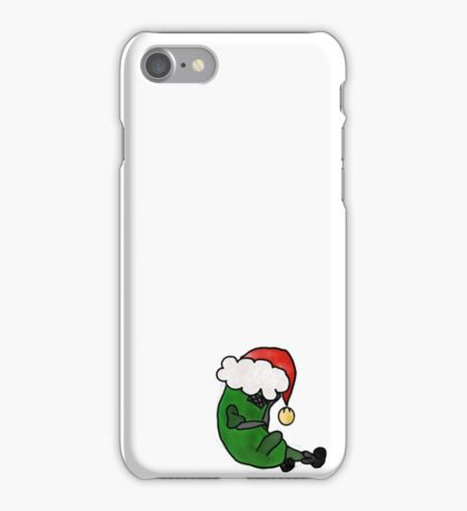 Christmas Pickle Person iPhone Case/Skin
