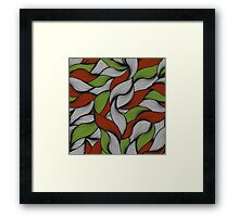 Christmas colors. Framed Print