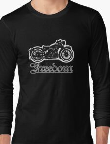 Freedom of the Motorcyclist Long Sleeve T-Shirt