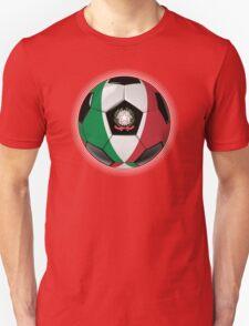 Italy - Italian Flag - Football or Soccer T-Shirt