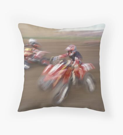 Quads Throw Pillow