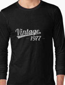 Vintage 1977 Long Sleeve T-Shirt