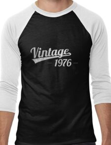 Vintage 1976 Men's Baseball ¾ T-Shirt