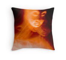 Budda Dreaming Throw Pillow