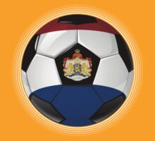 Netherlands - Dutch Flag - Football or Soccer by graphix