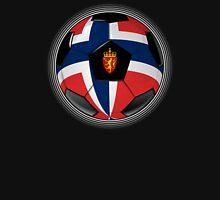 Norway - Norwegian Flag - Football or Soccer Unisex T-Shirt