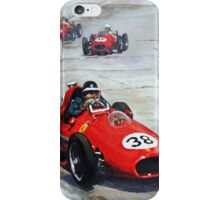 1958 Monaco GP #38 Ferrari D246 Hawthorn  iPhone Case/Skin