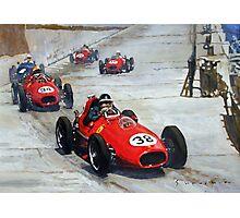 1958 Monaco GP #38 Ferrari D246 Hawthorn  Photographic Print