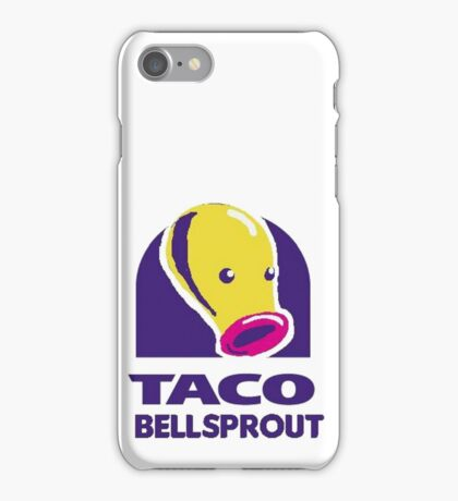 taco bellsprout iPhone Case/Skin