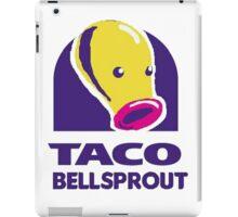 taco bellsprout iPad Case/Skin