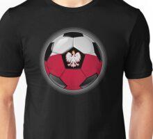 Poland - Polish Flag - Football or Soccer Unisex T-Shirt