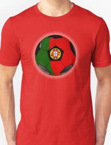 Portugal - Portuguese Flag - Football or Soccer T-Shirt