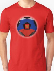 Russia - Russian Flag - Football or Soccer T-Shirt