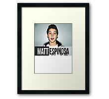 Espinosa Framed Print