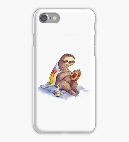 Cozy Sloth iPhone Case/Skin