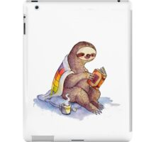 Cozy Sloth iPad Case/Skin
