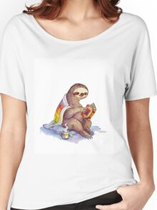 Cozy Sloth Women's Relaxed Fit T-Shirt