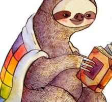 Cozy Sloth Sticker