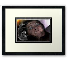 Trapped In A Nightmare Framed Print