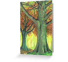 The Green Wood Greeting Card