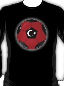 Turkey - Turkish Flag - Football or Soccer T-Shirt