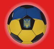 Ukraine - Ukrainian Flag - Football or Soccer One Piece - Short Sleeve