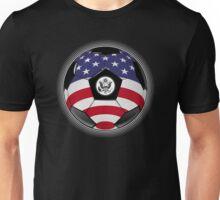 USA - American Flag - Football or Soccer Unisex T-Shirt