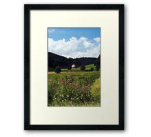 Kloster Tennenbach Framed Print