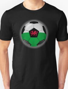 Wales - Welsh Flag - Football or Soccer T-Shirt
