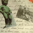 French Letter with Mannekin Pis by Susan Grissom