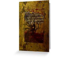 Illuminated Manuscript Greeting Card