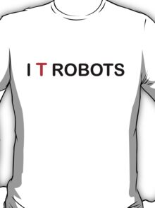 The IT Crowd – I T Robots (Black) T-Shirt