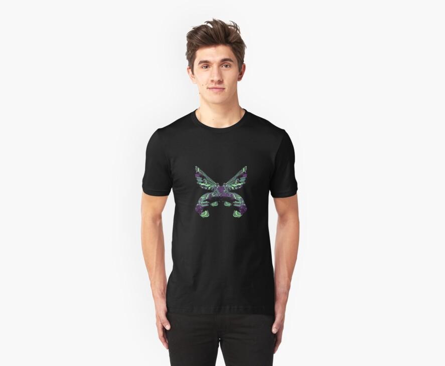C4D butterfly by Mv2dot