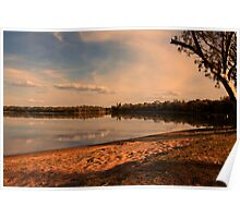 Lake Yarrie.  Poster