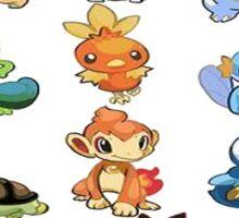all starters pokemons Sticker