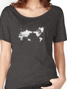 THE WORLD IS YOURS ! Women's Relaxed Fit T-Shirt