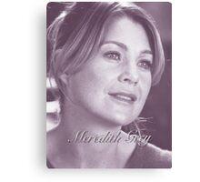 Meredith Grey  Canvas Print