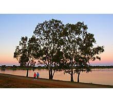 Lake Albert at Wagga Wagga Photographic Print