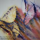 Watercolour: Butterflies Are Flying by Marion Chapman