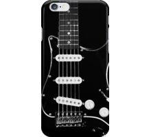 black glowstrings iPhone Case/Skin