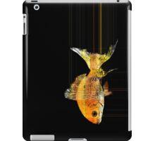 fast goldfish iPad Case/Skin