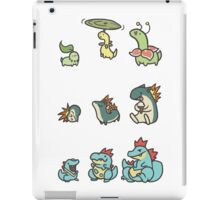 2nd gen pokemon cute starters iPad Case/Skin